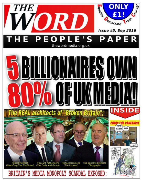 5 - latest news issue - the word