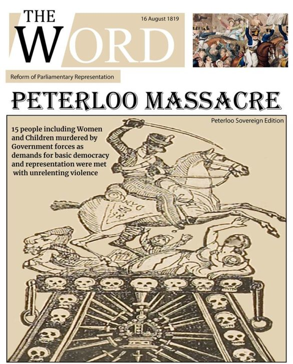 Peterloo - latest news issue - the word