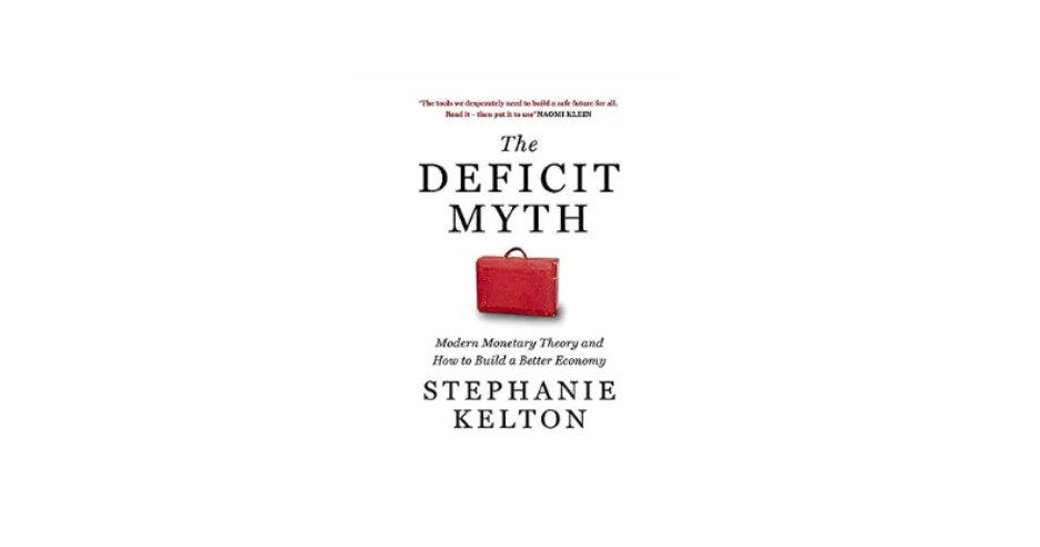 MMT economics Book cover The Deficit Myth