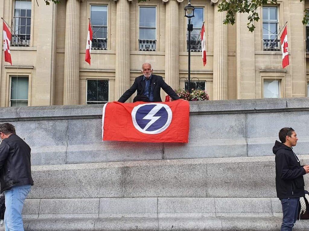 British Union of Fascist flag